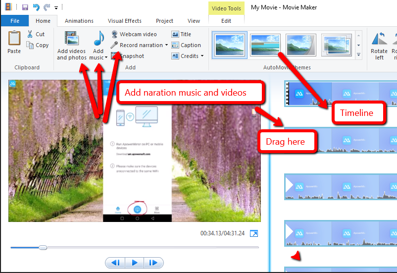 Windows Movie Maker 17 Crack + Activation Key 2019 Free Download
