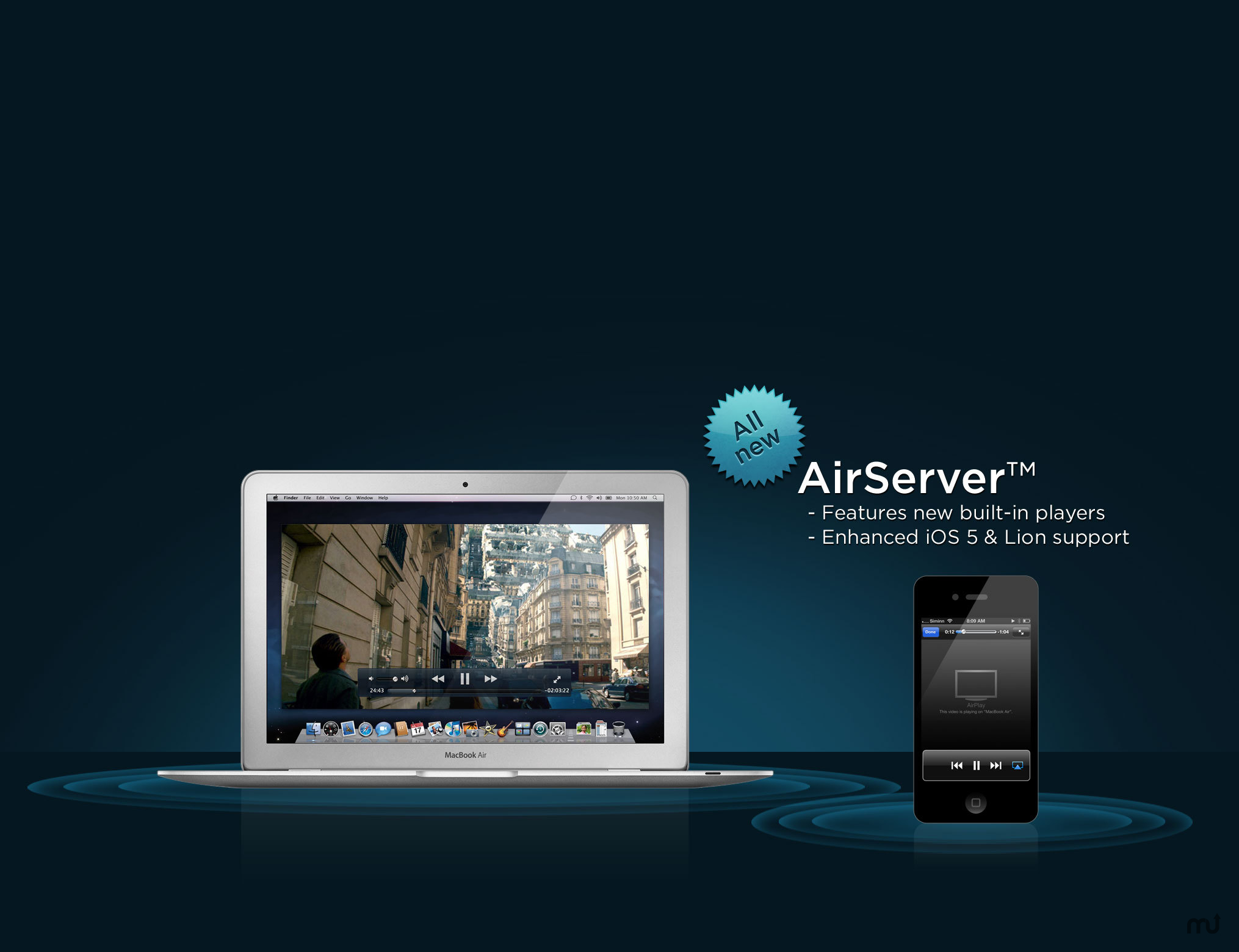 AirServer 7.1.6 Crack + Activation Code 2019 Free Download[Window + Mac]