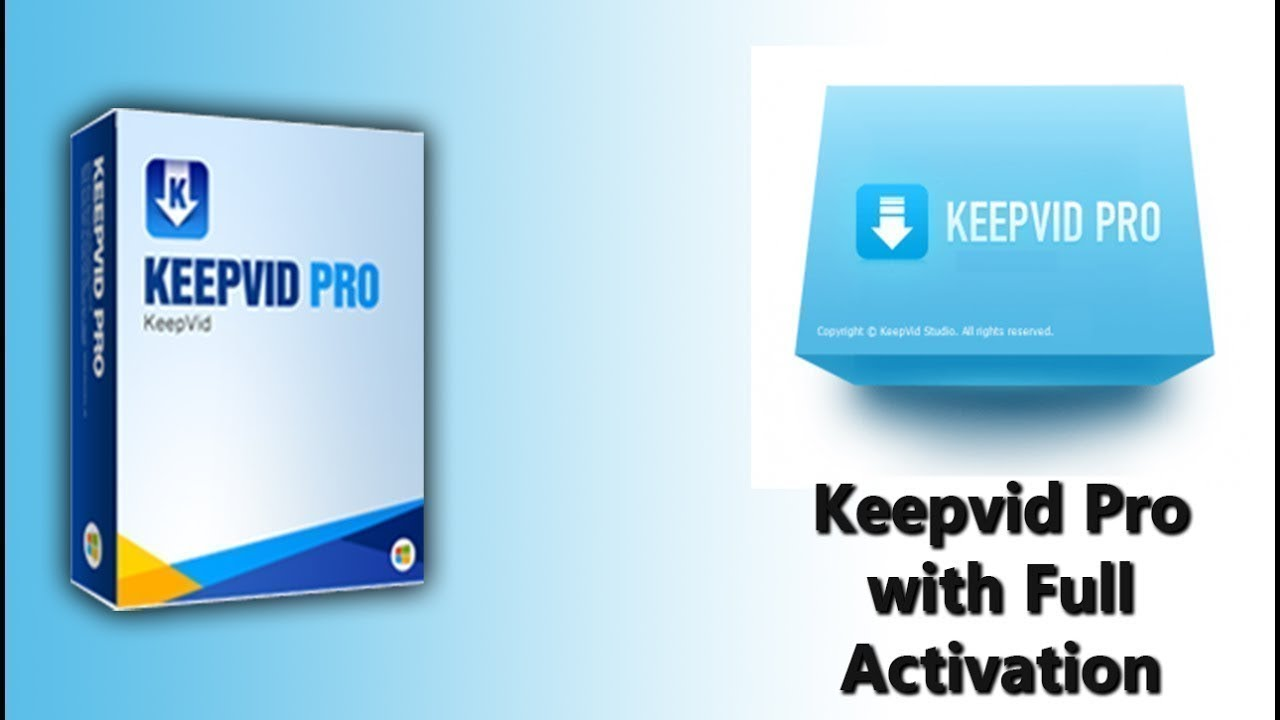 KeepVid Pro 7.3.0.2 Crack Lifetime + Serial Key 2019 Free Download