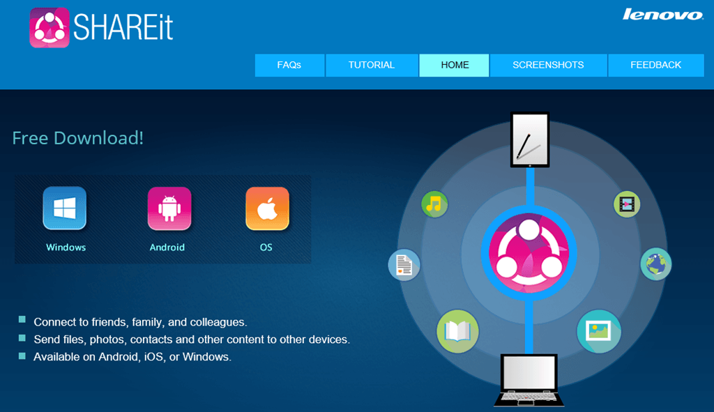 Download SHAREit 4.0.6.177 Crack + Key 2019 For Windows 7/8/10 [32/64 Bit]