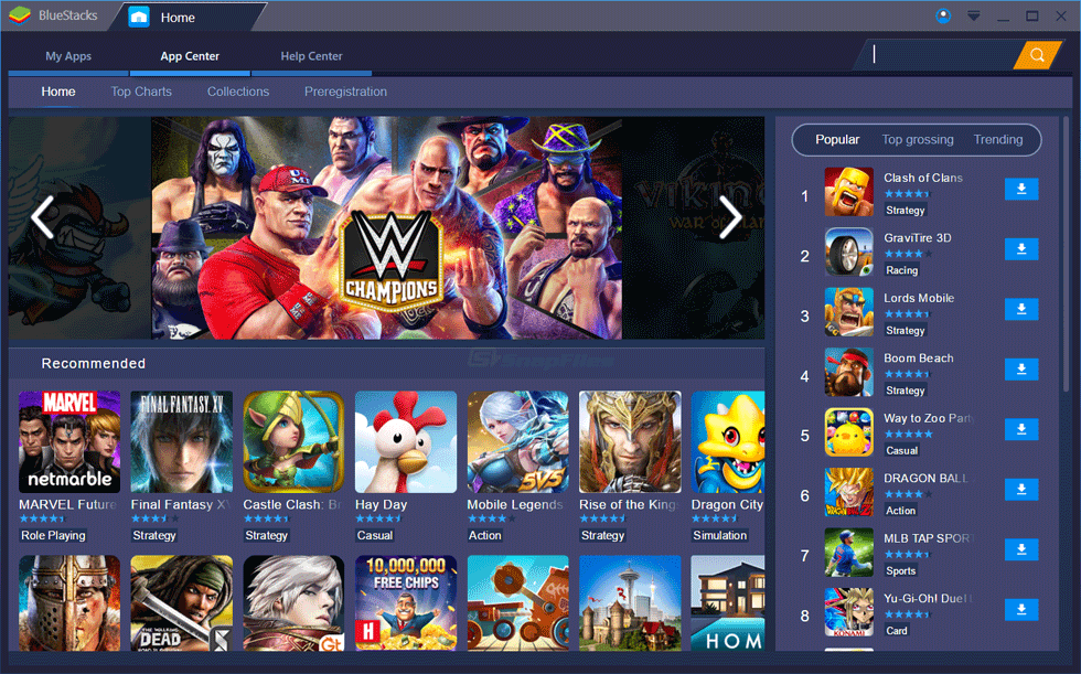 BlueStacks App Player 4 40 101 5011 Crack + Serial Key 2019 Free