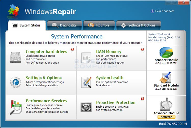 Windows Repair Pro 4.4.4 Crack + Activation Key 2019 Free Download [Latest]