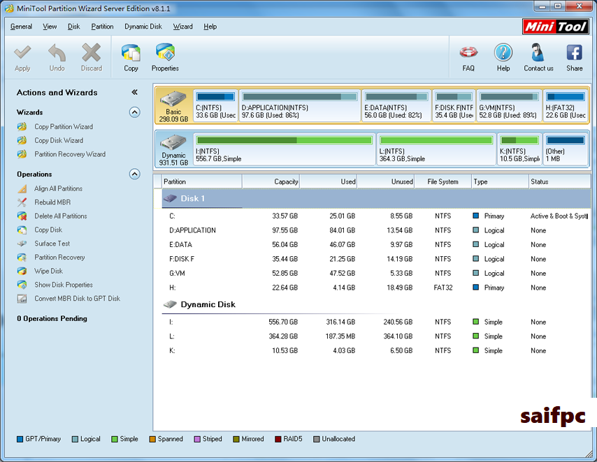 MiniTool Partition Wizard Pro Edition 11.5.0 Crack + Key 2020 Download