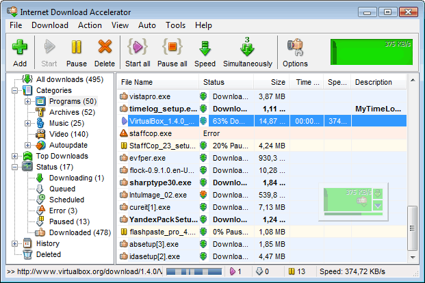 Internet Download Accelerator Pro 6.18.1.1633 Crack + Key 2019 Download