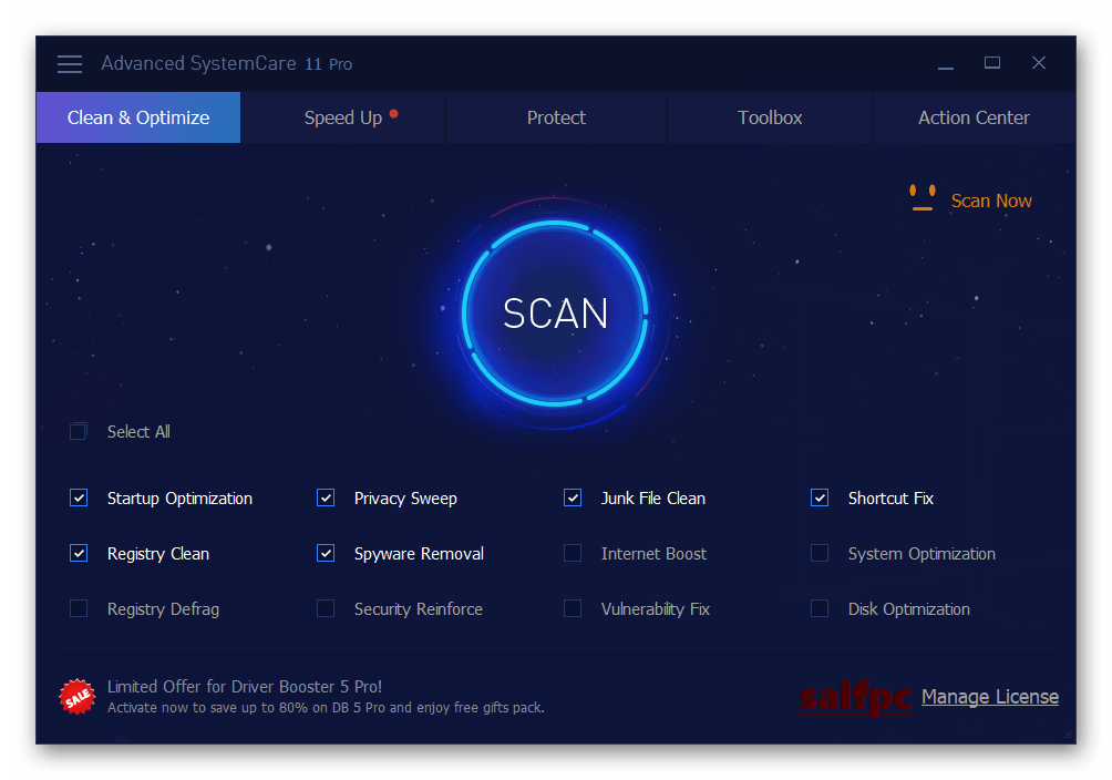 Advanced SystemCare Pro 13.0.2.171 Crack + Serial Key 2020 Download