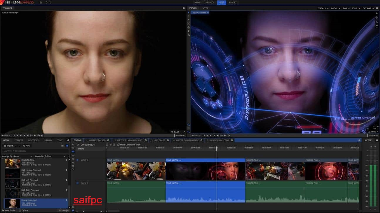 HitFilm Express Pro Crack 13.1.9320 + Activation Key Download [Latest]