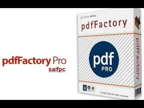 pdfFactory Pro 7.05 Crack + Serial Key 2020 Free Download [Latest]