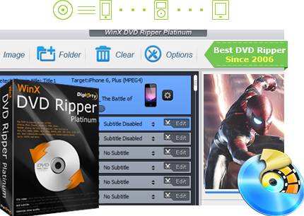 WinX DVD Ripper Platinum 8.9.2 Crack + Key 2019 Free Download