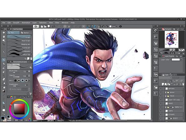 Clip Studio Paint EX 1.8.5 Crack + Key 2019 Free Download [Mac + Win]