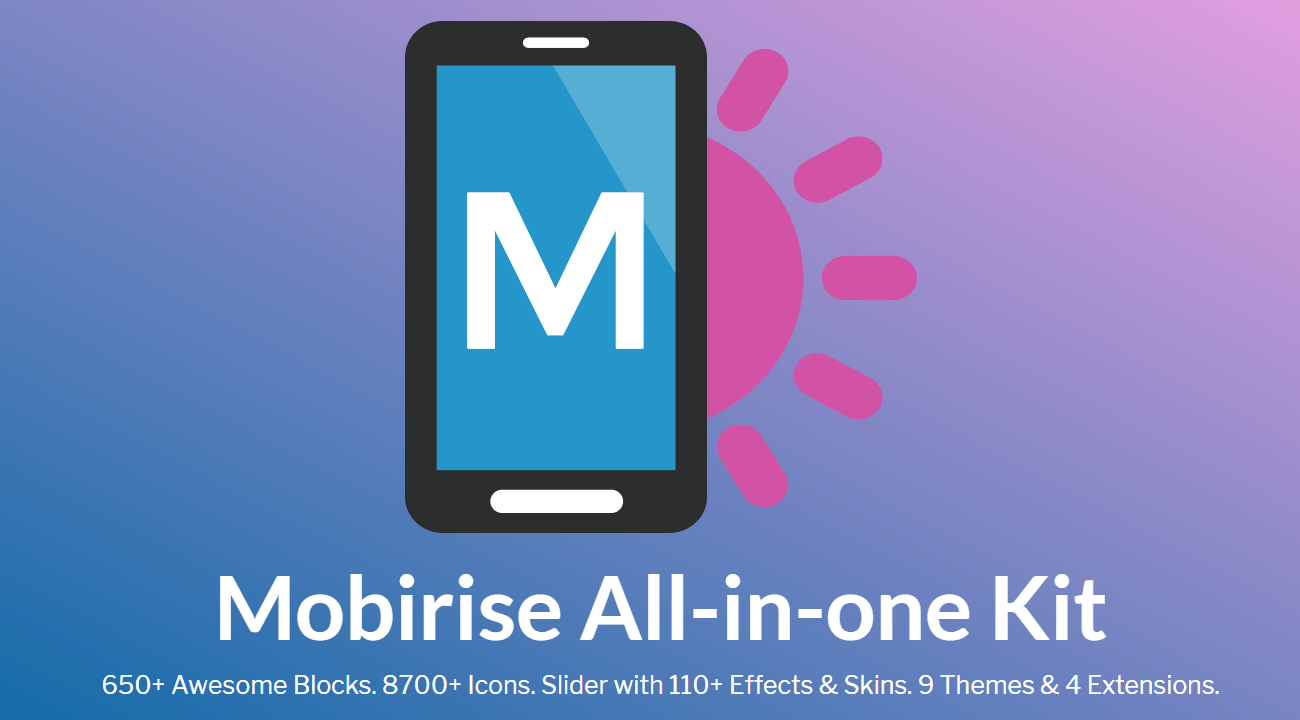 Mobirise 4.8.10 Crack + Licence Key 2019 Full Free Download [Latest]