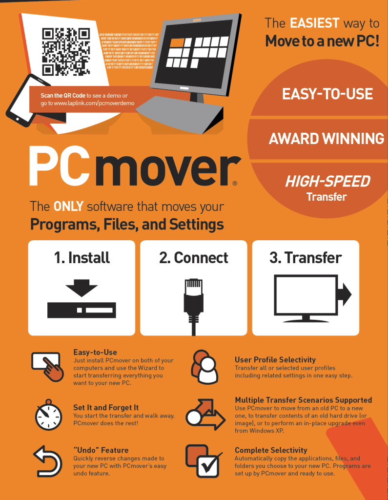 Laplink PCmover Professional 11.01.1007.0 Crack + Serial Key 2019 Free Download