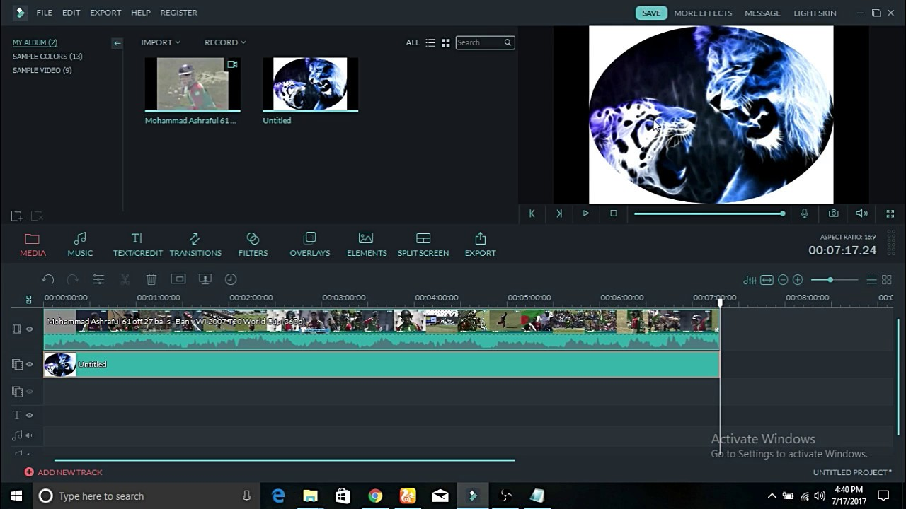 WonderShare Filmora 9.4.5.10 Crack + Activation Key 2020 Free Download