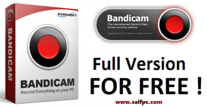 Bandicam Screen Recorder 4.5.2 Crack + Serial Key 2020 Free Download