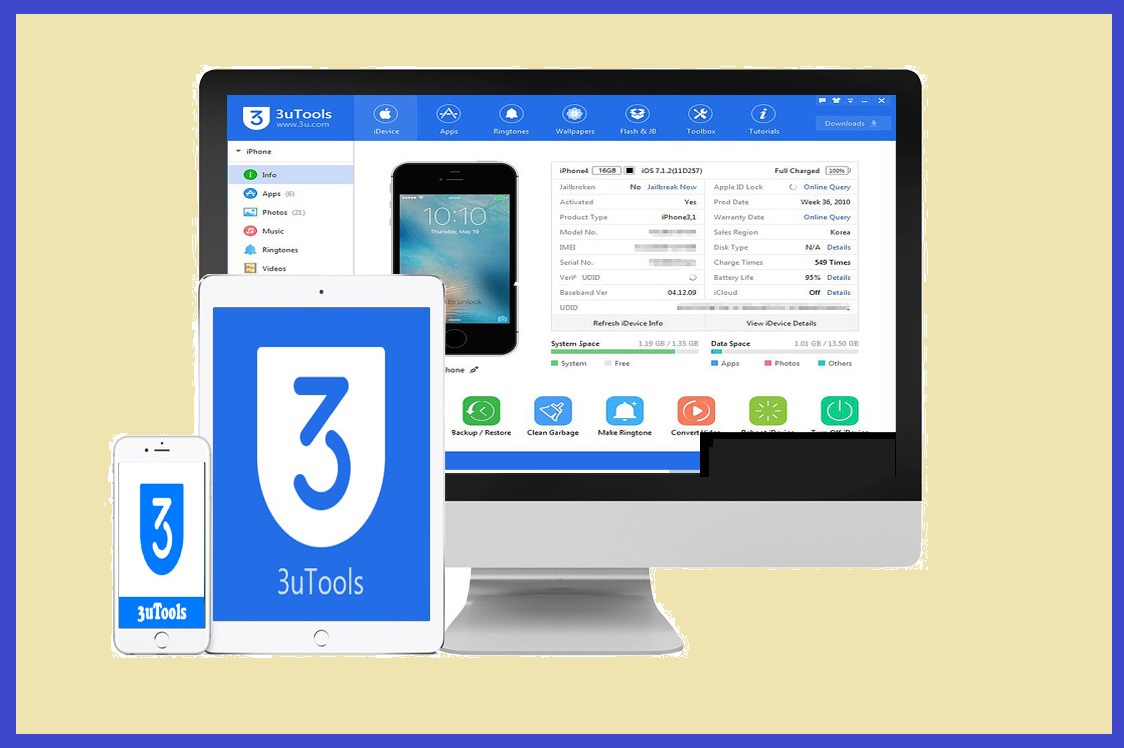 3uTools 2.36 Crack + Product Key 2019 Free Download [Latest]