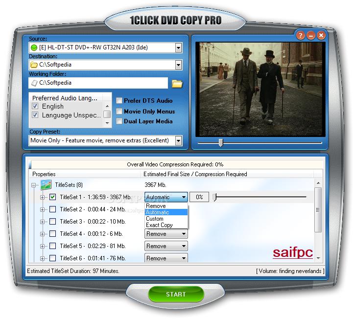 1CLICK DVD Copy Pro 6.1.2.7 Crack + Serial Key 2020 Download [Latest]