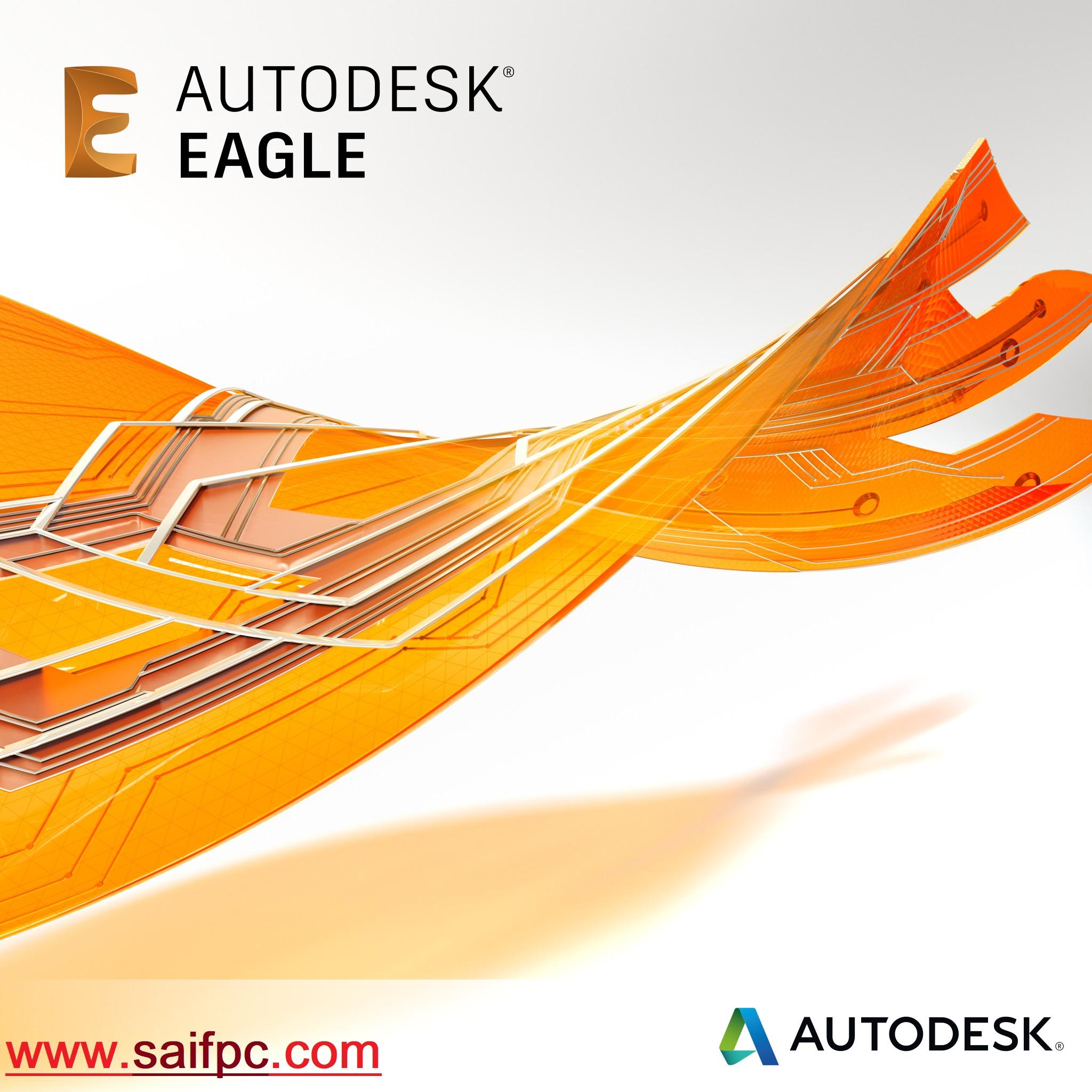 Autodesk EAGLE Premium 9.5.2 Crack + Serial Key 2020 Free Download