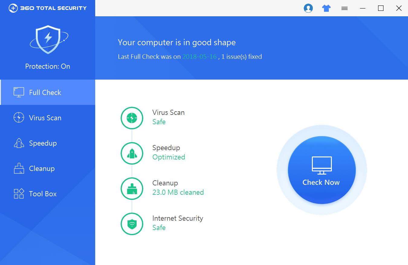 360 Total Security 10.6.0.1238 Premium Crack + Key 2020 Free Download
